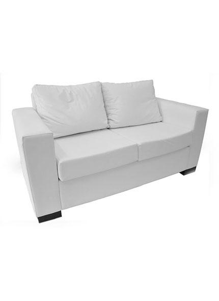 Sofá Branco 2 Lugares 1,56 x 0,78
