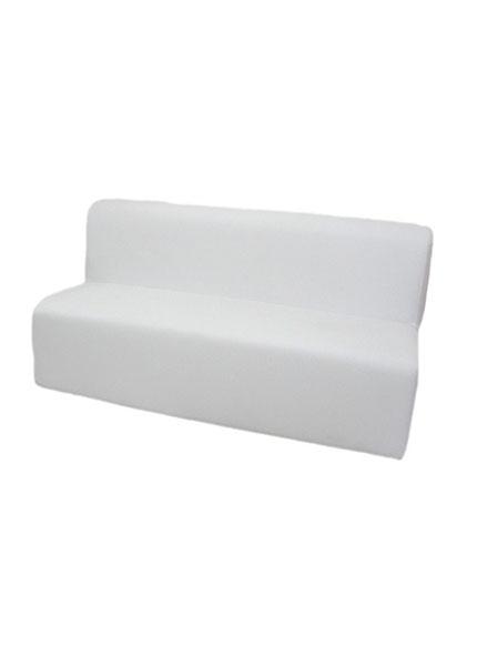 Sofá Branco 3 Lugares Módulo 1,80x0,80