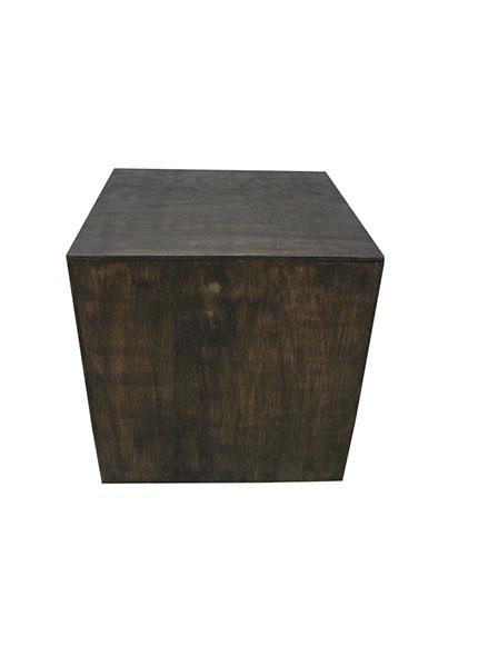 Cubo Rústico 0,80x0,80x0,80