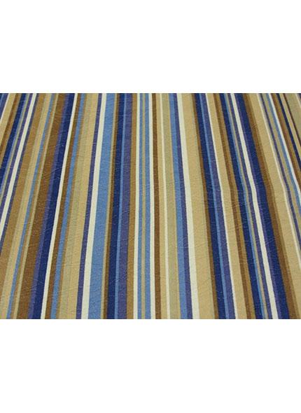 Toalha 1,50X1,50M  Decor Listado Azul