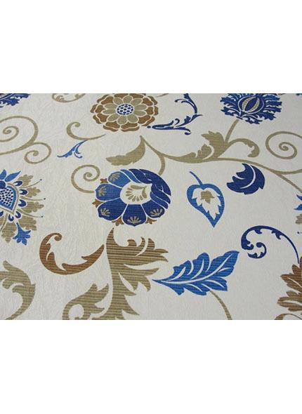 Toalha 1,50X1,50M  Decor Floral Azul