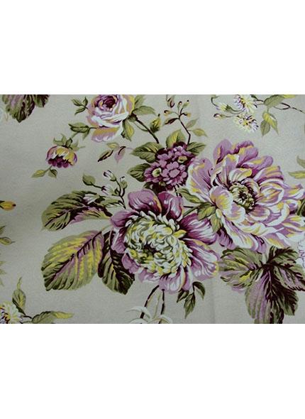 Toalha 1,50X1,50 Floral Rosa