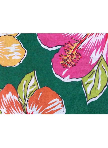 Toalha 1,50X1,50M  Floral Chita Verde