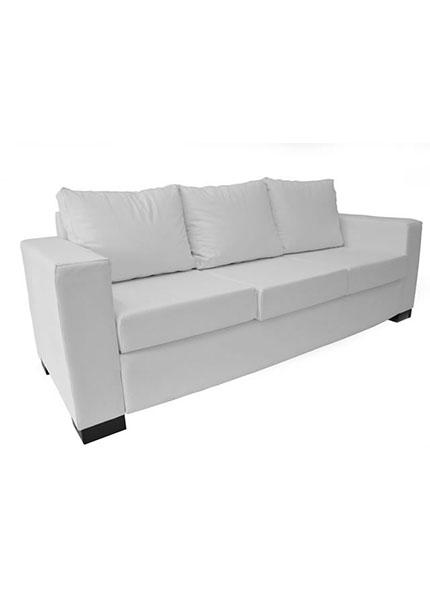 Sofá Branco 3 Lugares  2,16 x 0,78