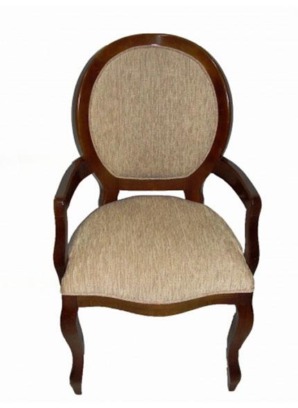Cadeira Medalhão Rústica c/braço