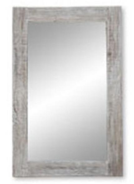Espelho  Madeira Branco 1,76X0,92