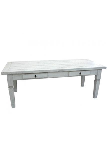 Mesa Branca Madeira 2,20x0,90