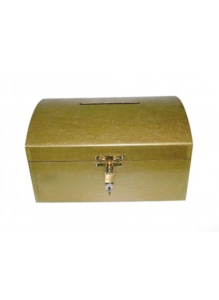 Urna Baú Dourado