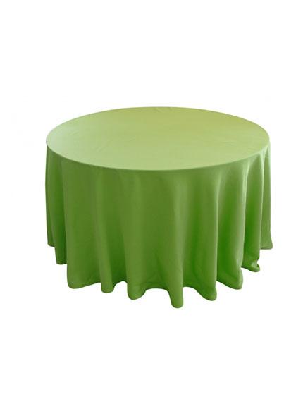 Toalha Redonda Maçã Verde