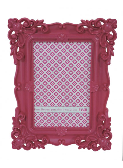 Porta Retrato Rosa Pink 10X15
