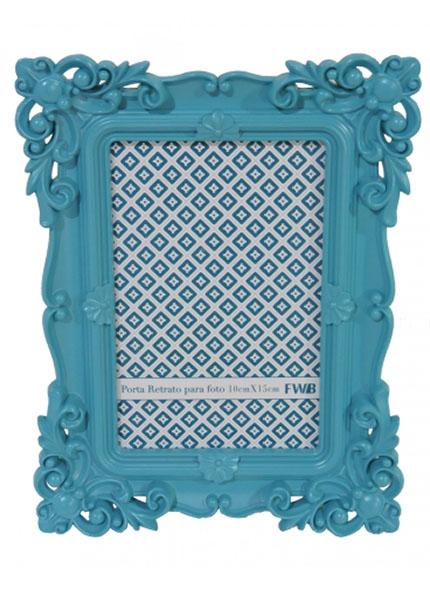 Porta Retrato Azul  0,15X0,20