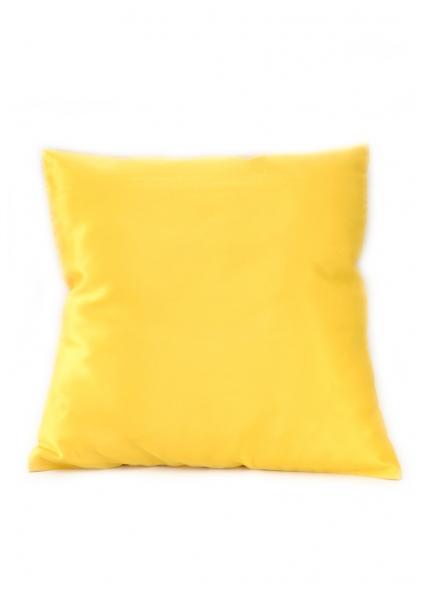 Almofada Cetim Amarela