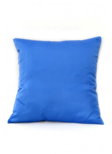 Almofada Cetim  Azul Bic 40x40