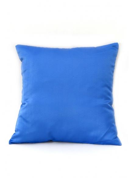 Almofada Cetim  Azul Bic