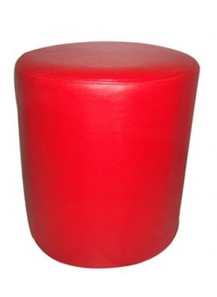 Puff Individual Vermelho 0,43x0,46