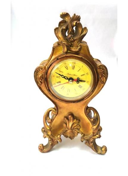 Relógio Dourado Resina 26 Alt.