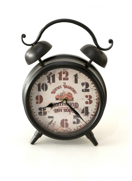 Relógio Decorativo Preto 0,35Alt
