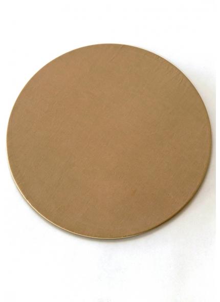 Sousplat  c/ Tecido Dourado