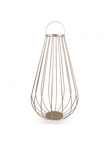 Lanterna de Chão G Dourada 0,70x0,40