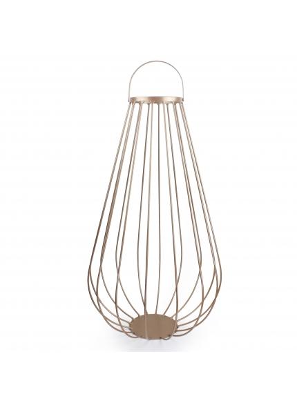 Lanterna de Chão M Dourada 0,60x0,40