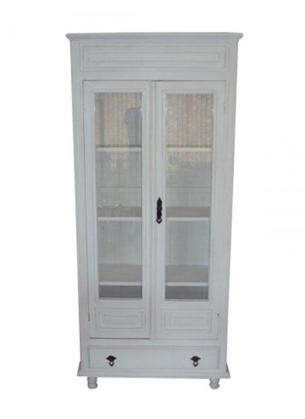 Armário Cristaleira Branco