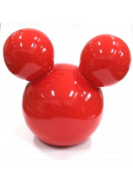 Orelha Mickey Cerâmica G Vermelha 0,23 ALT